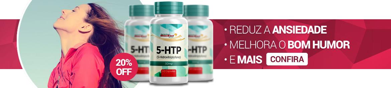 Compre 5-HTP com o melhor preço! Frete Grátis para todo o Brasil