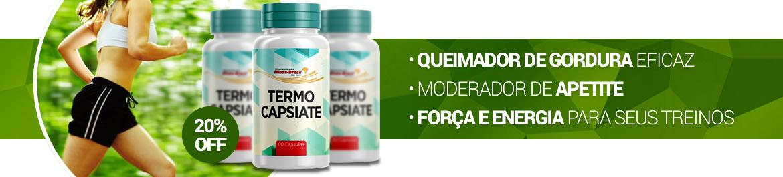 Compre Termo Capsiate com o melhor preço! Frete Grátis para todo o Brasil