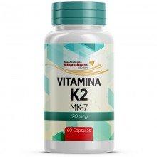 Vitamina K2 (mk-7) 120 Mcg - 60 Cápsulas